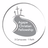 Agape Christian Fellowship's logo