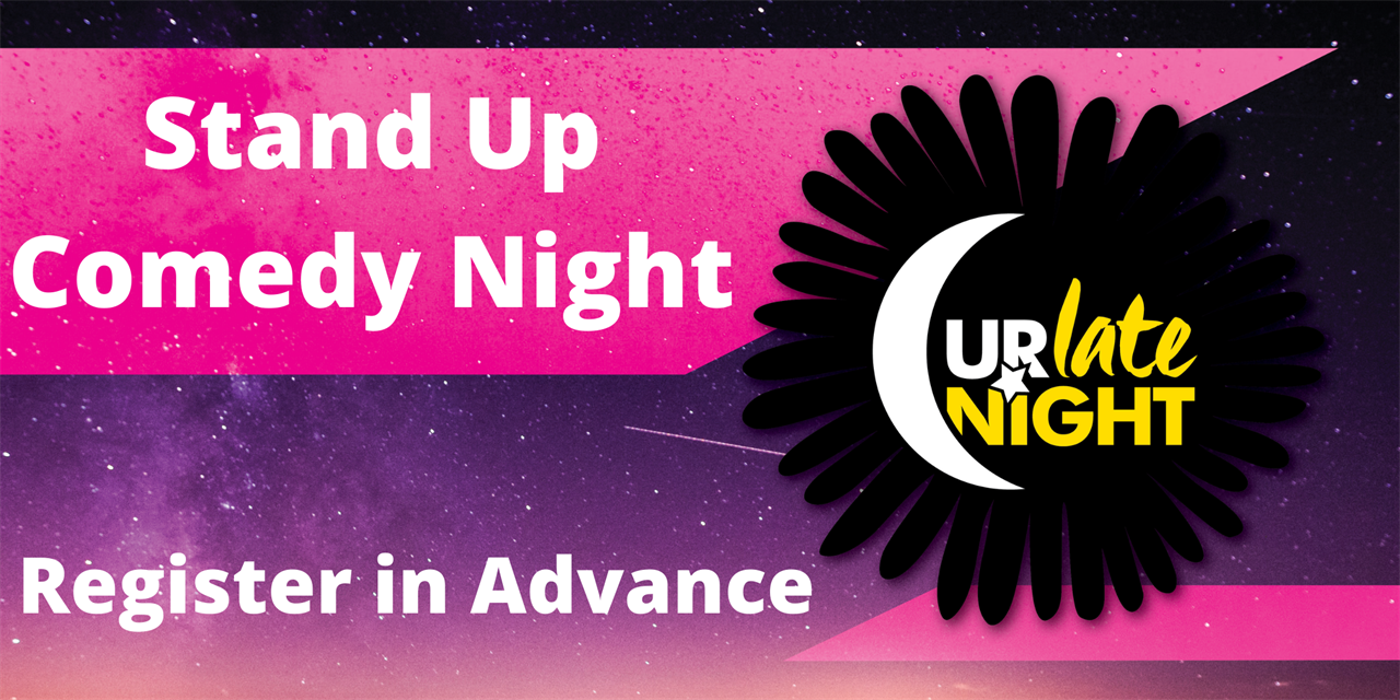 Stand Up Comedy Night Event Logo