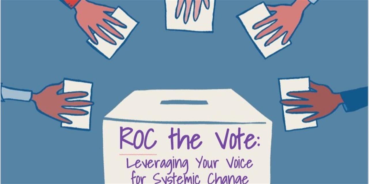 ROC the Vote workshop (National Voter Registration Day edition!) Event Logo