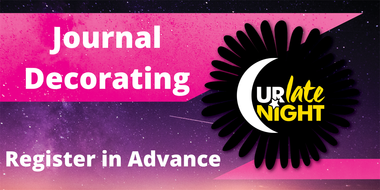 Journal Decorating Event Logo