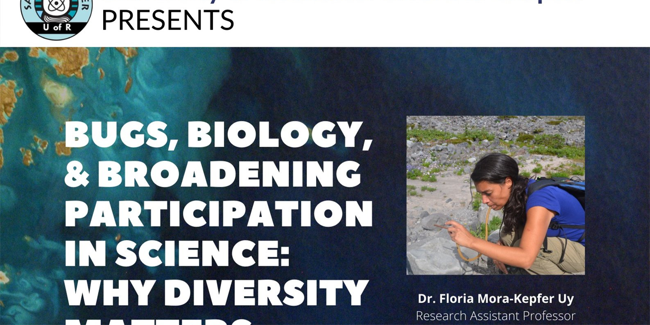 Bugs, Biology and Broadening Participation in Science: Why Diversity Matters Event Logo