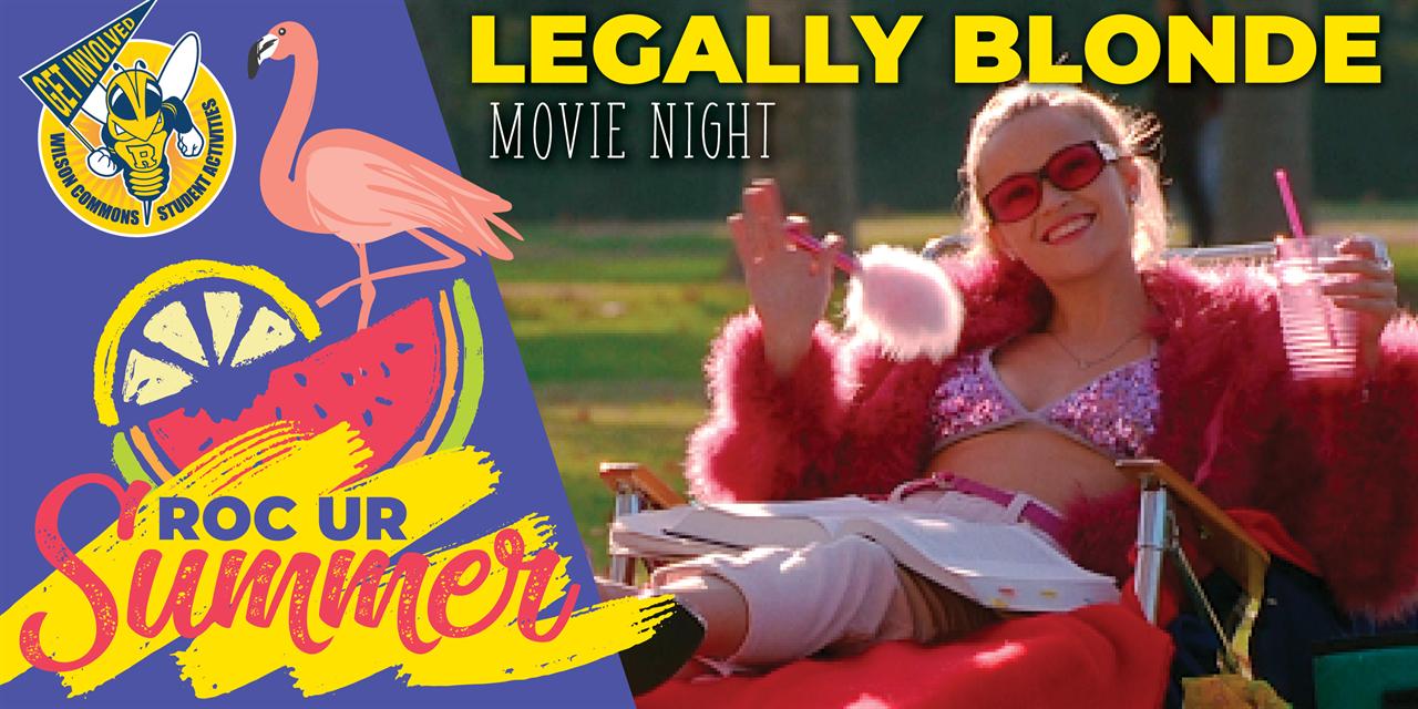 Movie Screening: Legally Blonde Event Logo