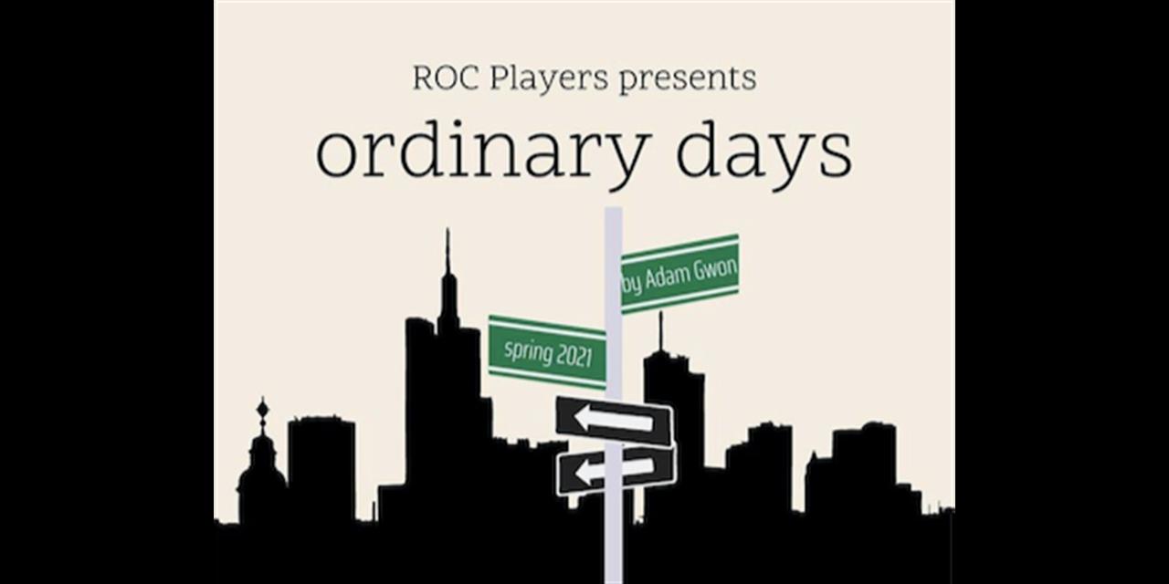 "ROC Players presents ""Ordinary Days"" Event Logo"