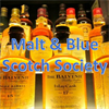 Malt and Blue Scotch Society's logo