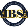 Michigan Business Student Association's logo