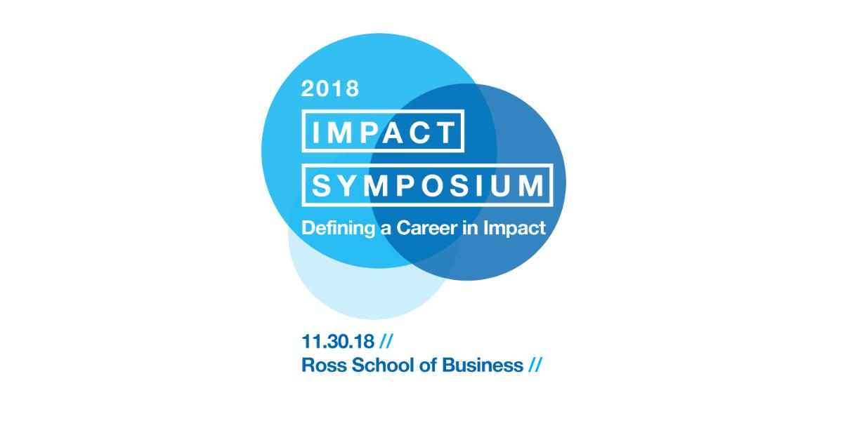 Net Impact Symposium Event Logo