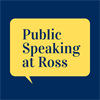 Public Speaking at Ross's logo