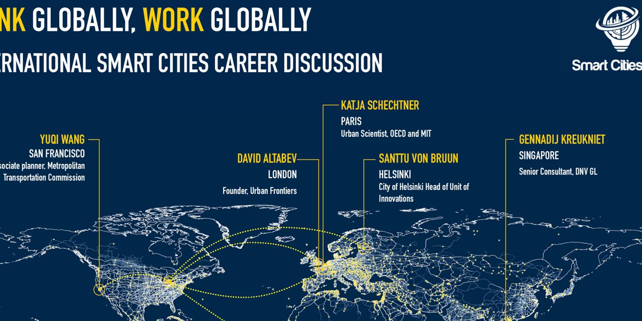 Smart Cities - International Career Panel