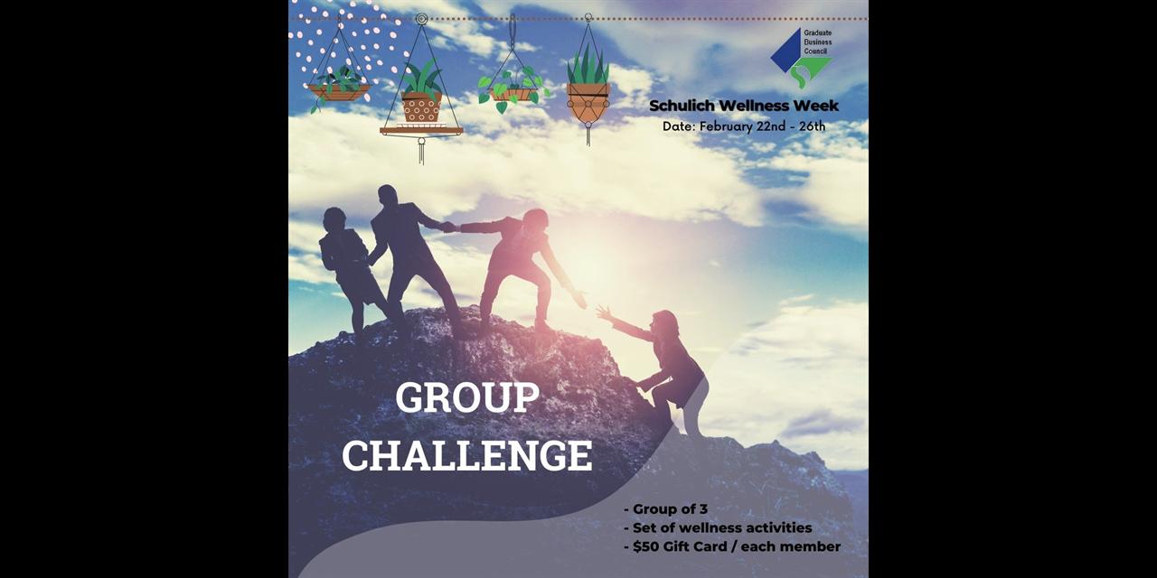 Wellness Week: Group Challenge Event Logo