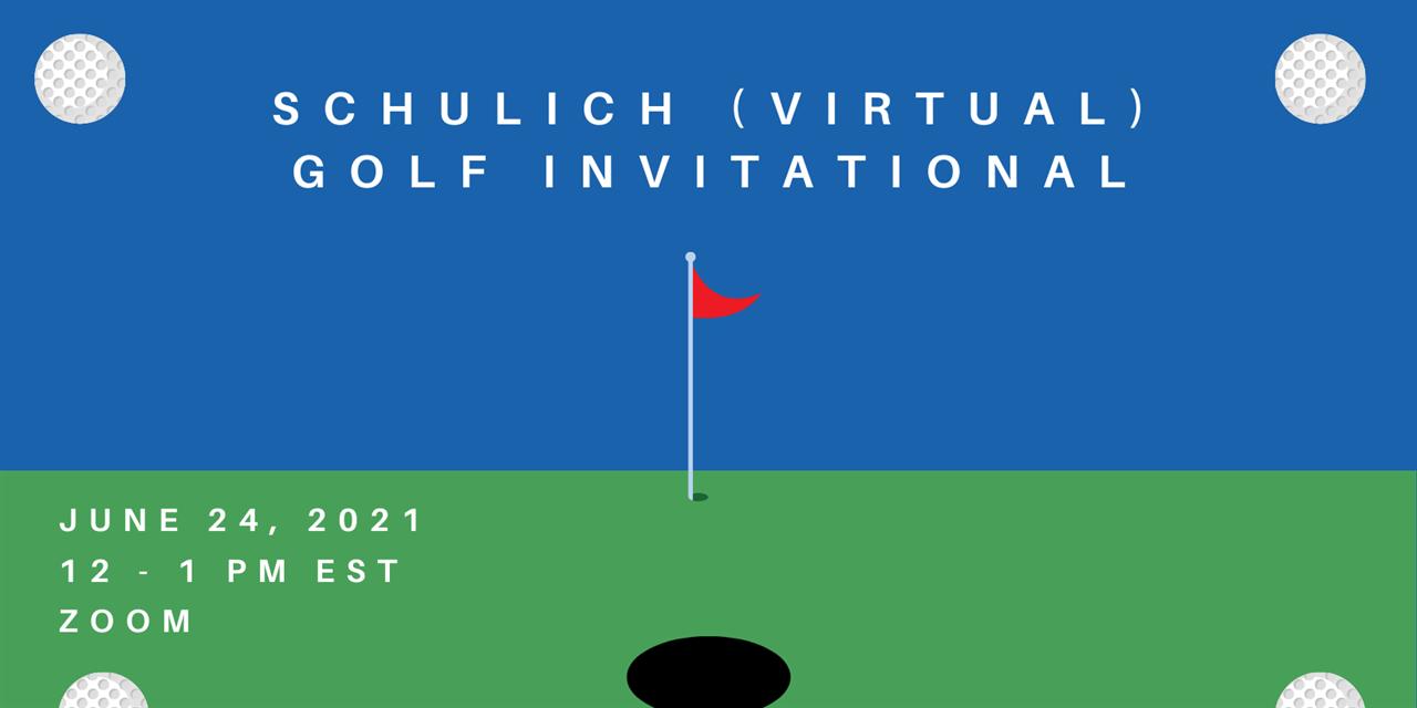 Schulich (Virtual) Golf Invitational Event Logo