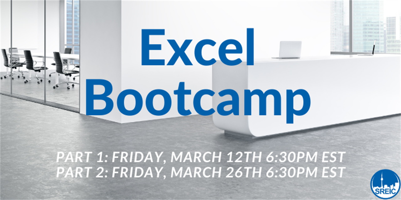Excel Bootcamp - Part 1 Event Logo