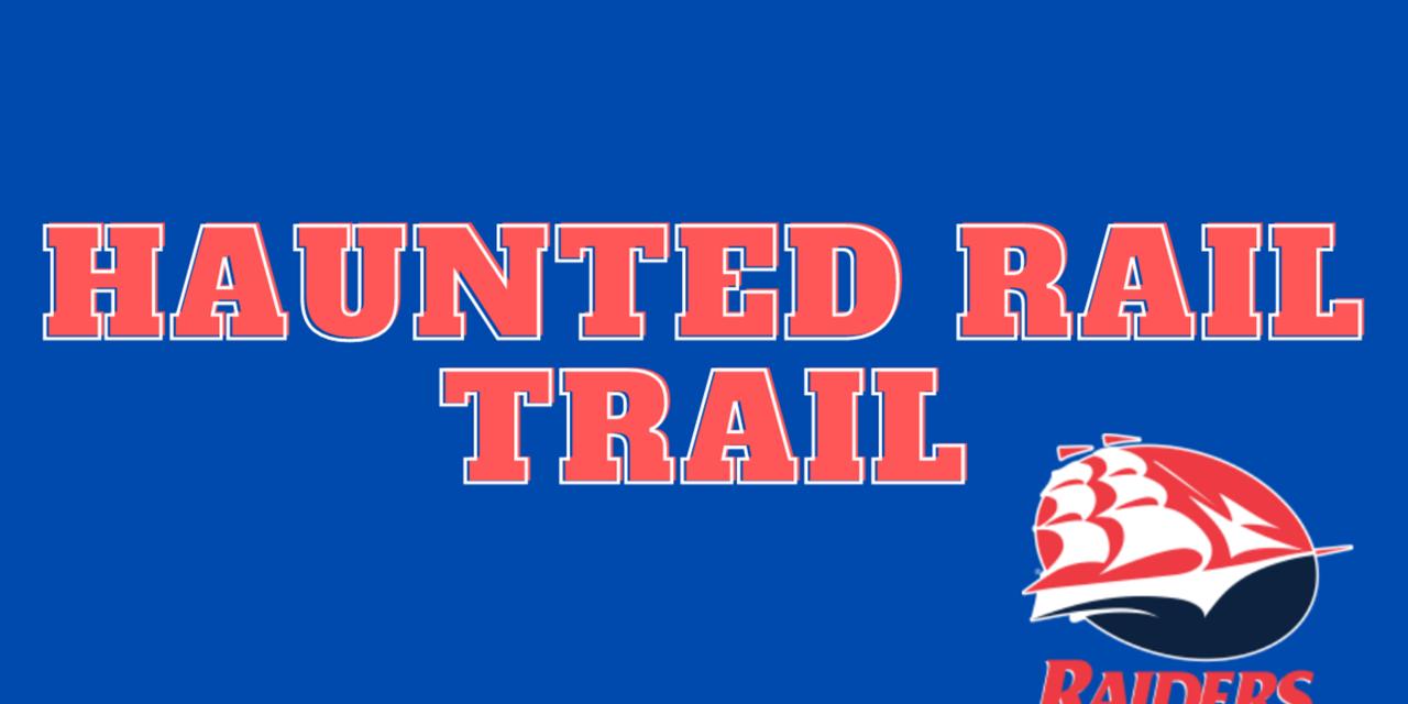 Haunted Rail Trail Event Logo