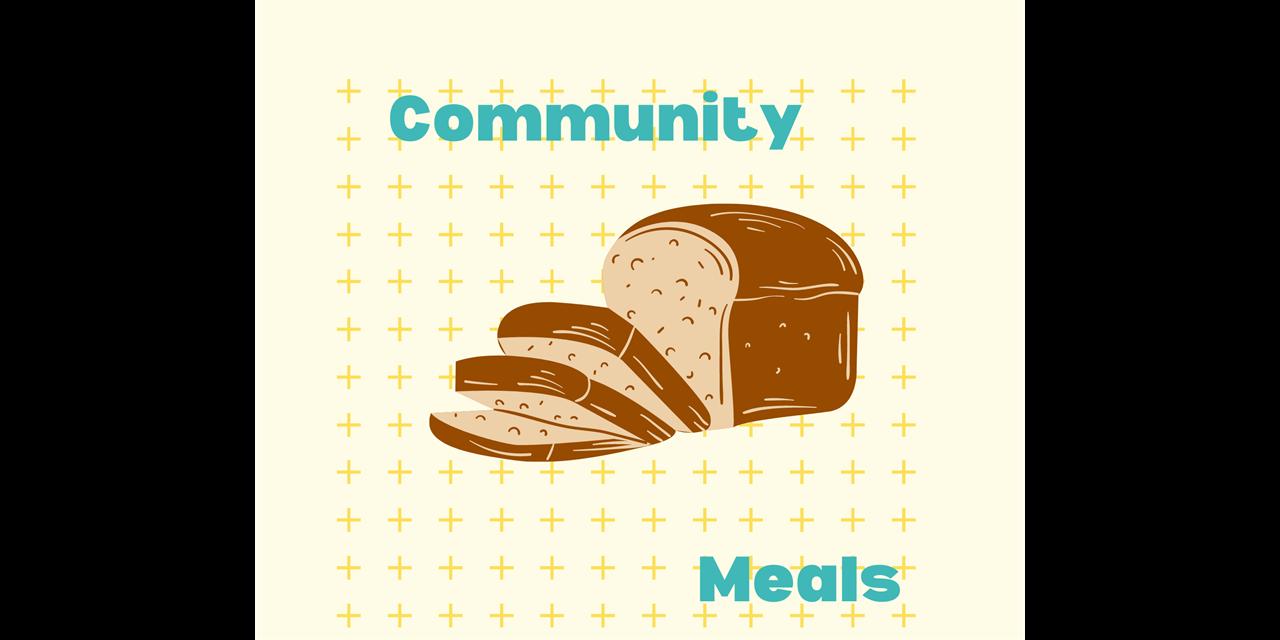 Community Meals Event Logo