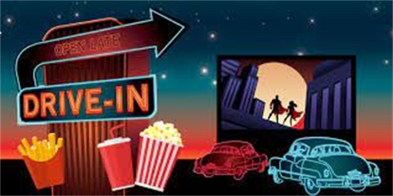 Drive-In Movie Event Logo