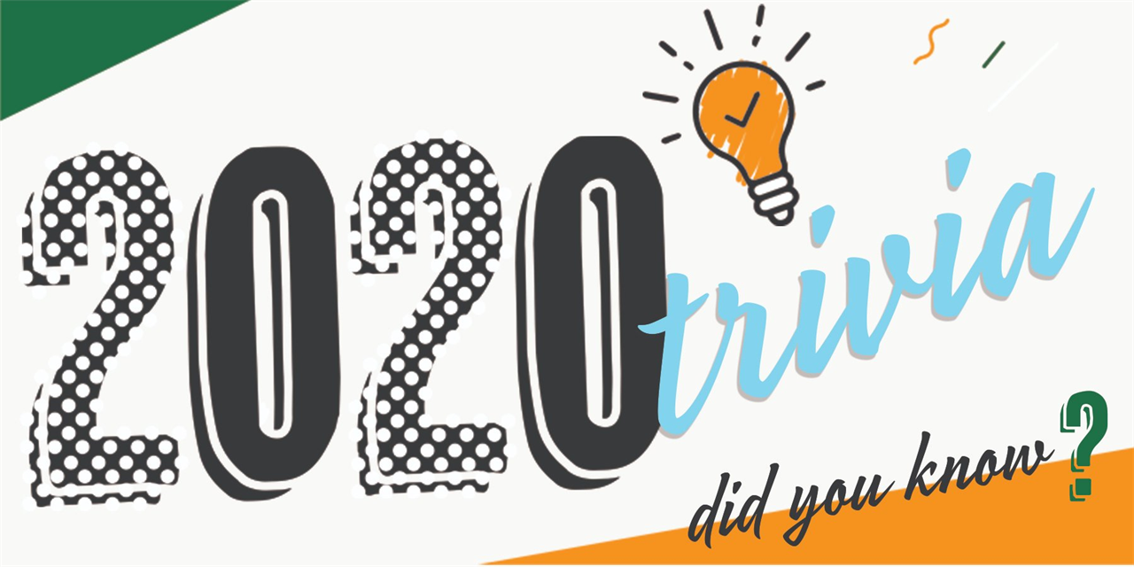 Trivia: What happened in 2020? Event Logo