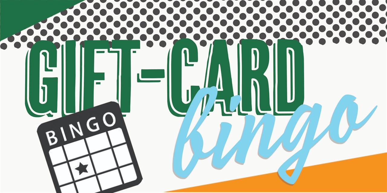 Gift Card Bingo Event Logo