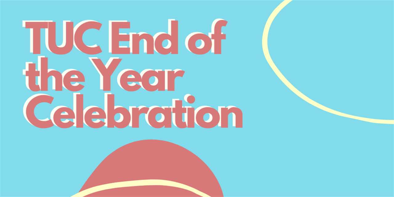 TUC End of the Year Celebration Event Logo