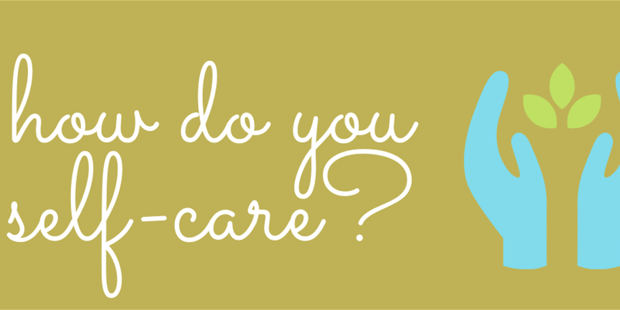 How Do You Self-Care? Instagram Competition Event Logo