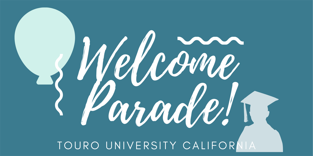 New Student Welcome Parade Event Logo