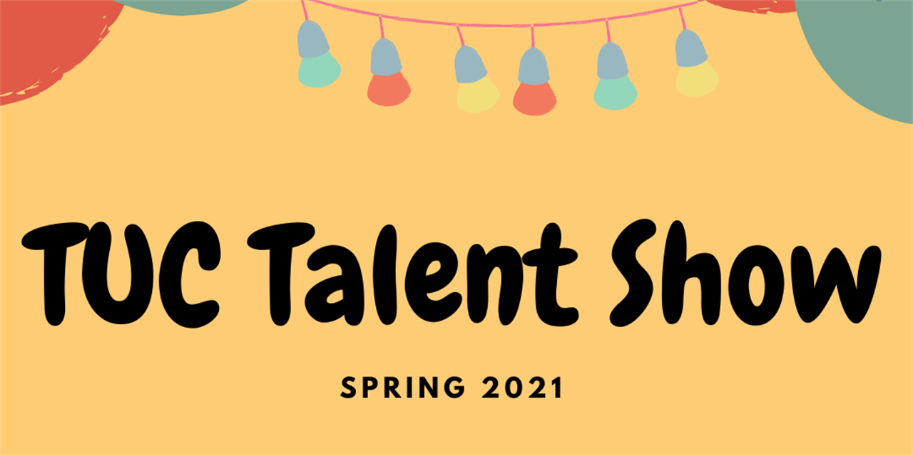TUC Talent Show Event Logo