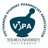 Vietnamese Student Pharmacist Association's logo