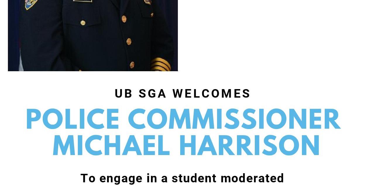 SGA General Meeting: President Kurt Schmoke and BPD Commissioner Michael Harrison Event Logo