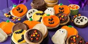 "Nu Omicron's ""Boo-tiful"" Bake Sale Event Logo"