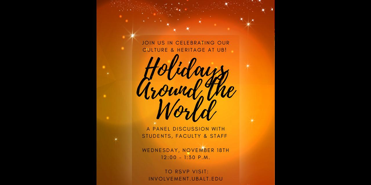 Holidays Around The World Event Logo