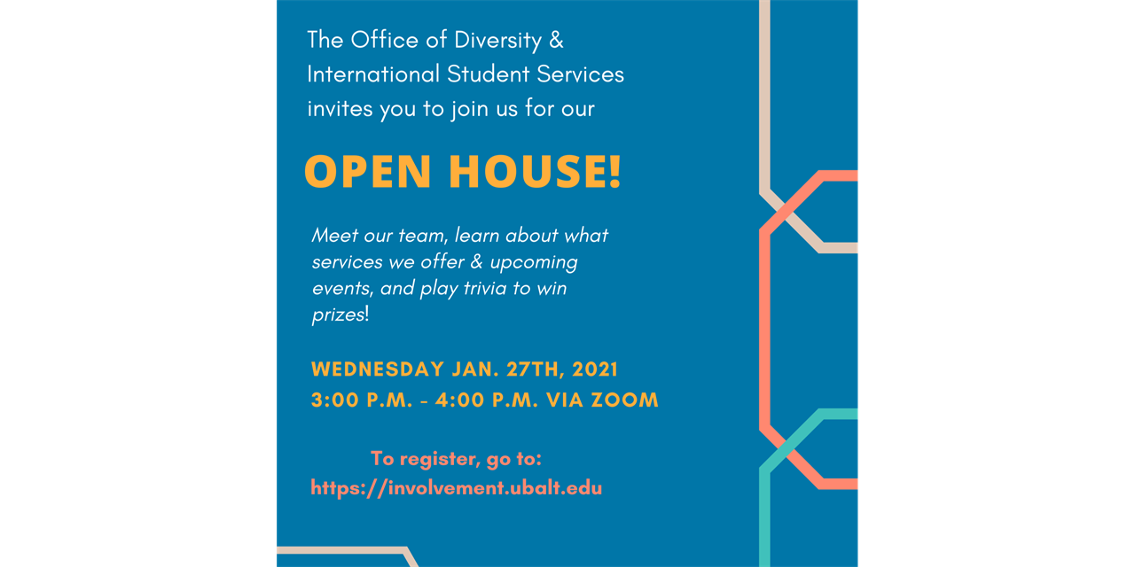 Diversity & International Services Open House Event Logo