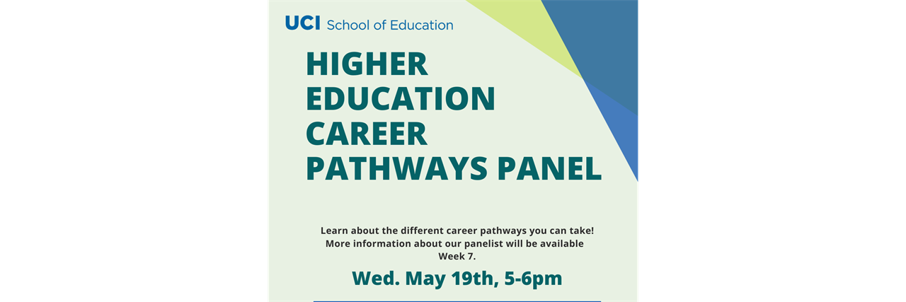 Higher Education Career Pathways Panel