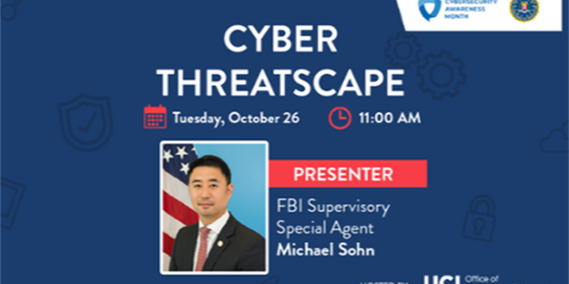 FBI Presentation: Cyber Threatscape