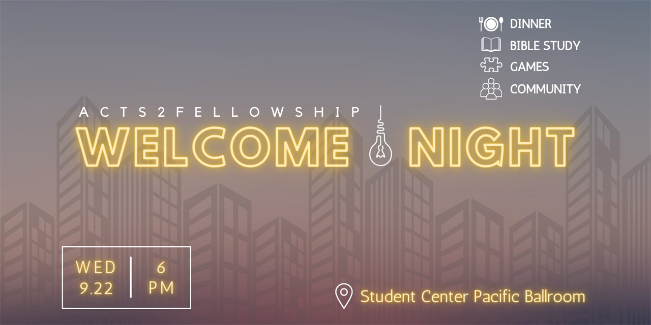 A2F Welcome Night Event Logo