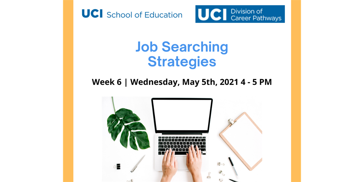 Job Searching Strategies in Education Event Logo
