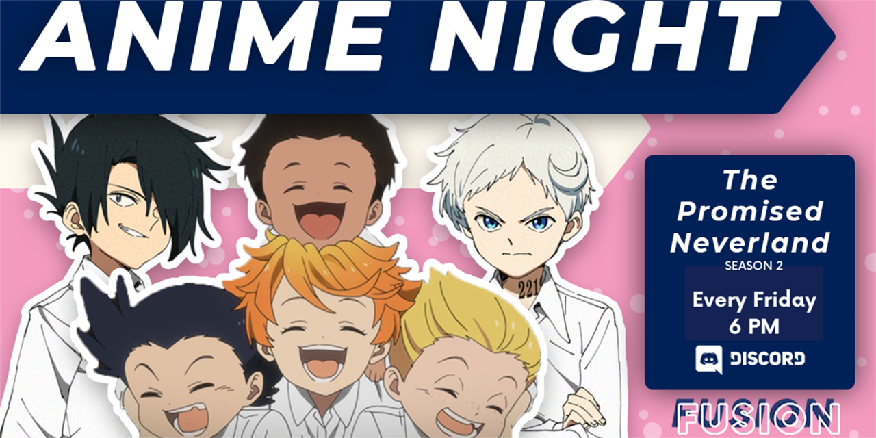 Anime Watch: The Promised Neverland S2 Event Logo