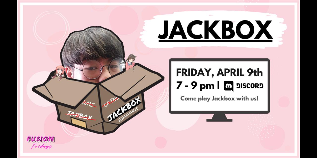FUSION Friday: Jackbox Event Logo