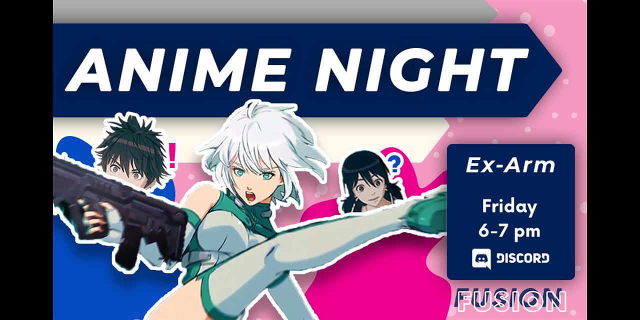 Anime Watch: Ex-Arm Event Logo