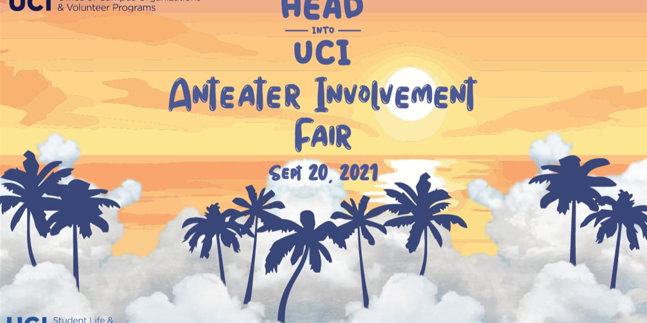 2021 Anteater Involvement Fair Event Logo