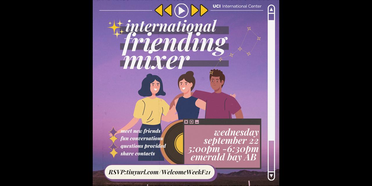 International Friending Mixer Event Logo