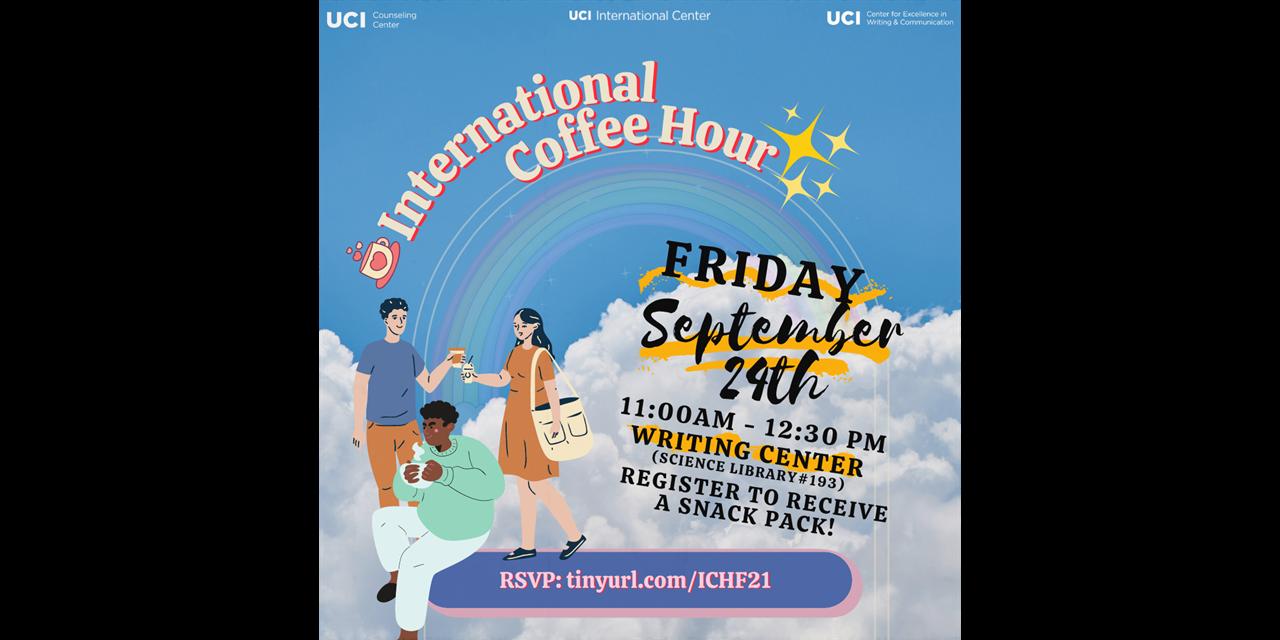 International Coffee Hour Event Logo