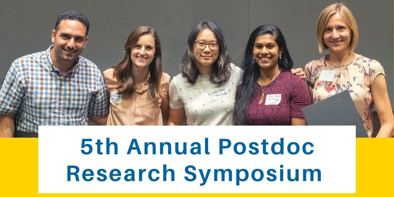 5th Annual Postdoctoral Scholars Research Symposium: Interdisciplinary Research and Collaboration Event Logo