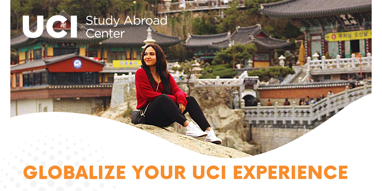 Globalize your UCI Experience - Study Abroad 101 Event Logo