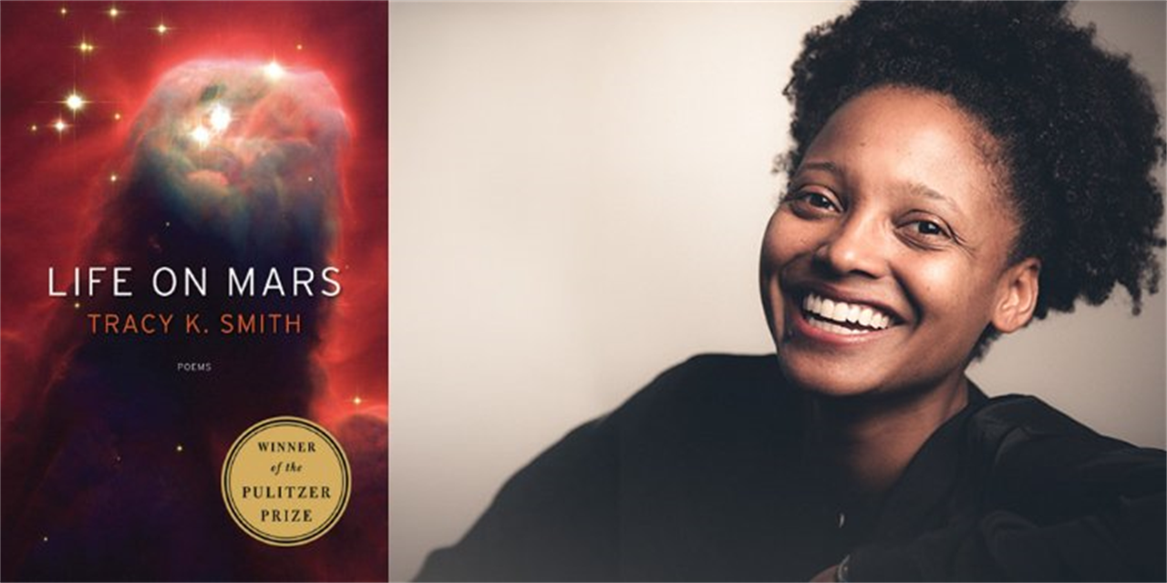 Pulitzer Prize-Winning Author Tracy K. Smith, former Poet Laureate of the United States Event Logo