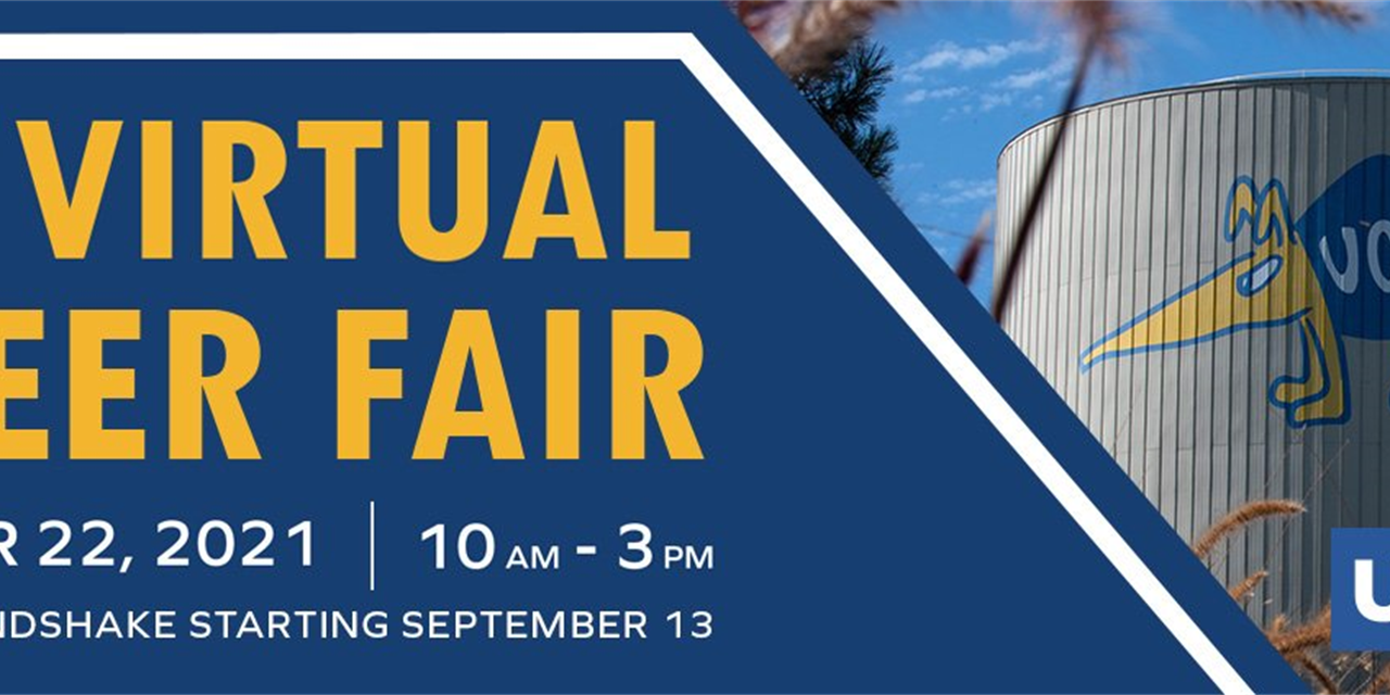 Fall Virtual Career Fair Event Logo