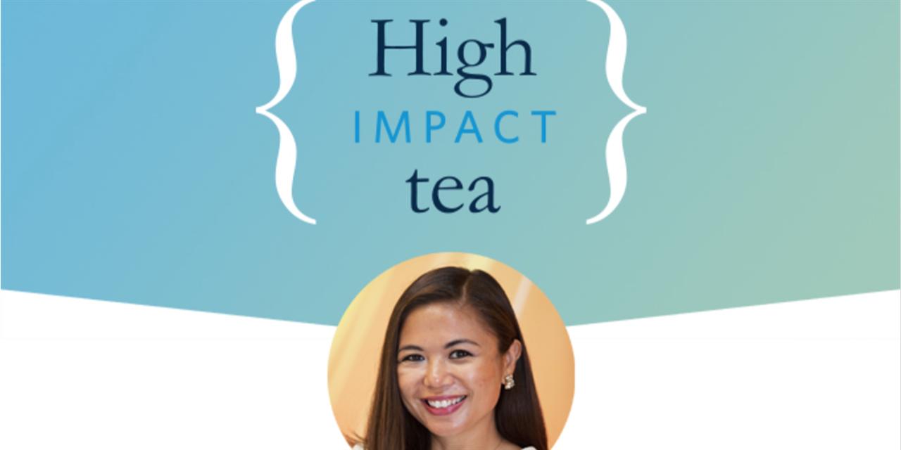 [Net Impact] High Impact Tea with Estelle Reyes Event Logo