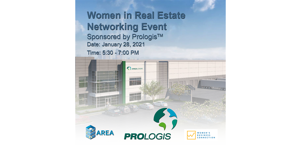 [WBC x AREA] Women in Real Estate Networking Event Event Logo
