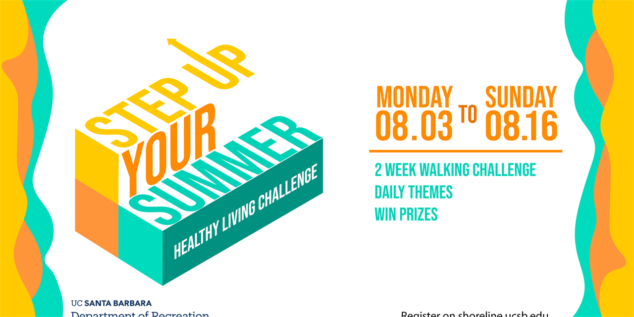 Step Up Your Summer - Healthy Living Challenge Event Logo