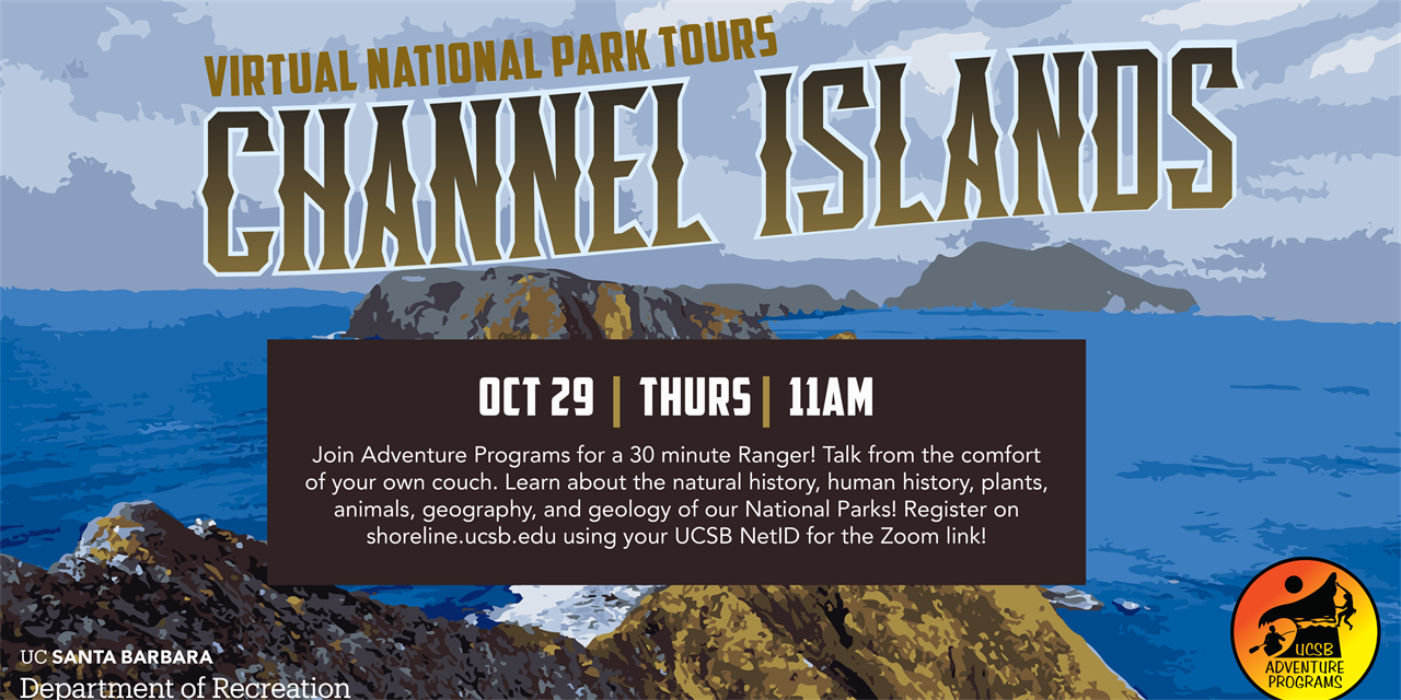Virtual National Park Tours - The Channel Islands National Park Island Foxes!  Free! | Thursday  |  11 am |  Oct 29