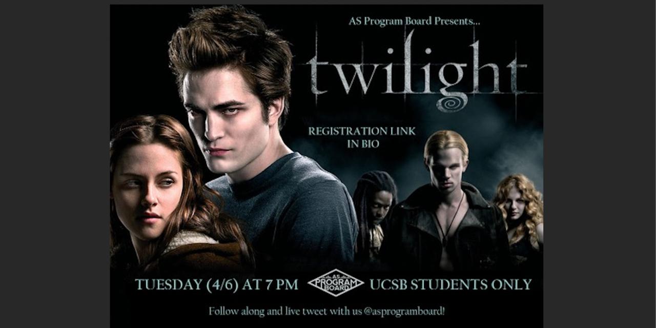 Free Tuesday Film: Twilight Event Logo