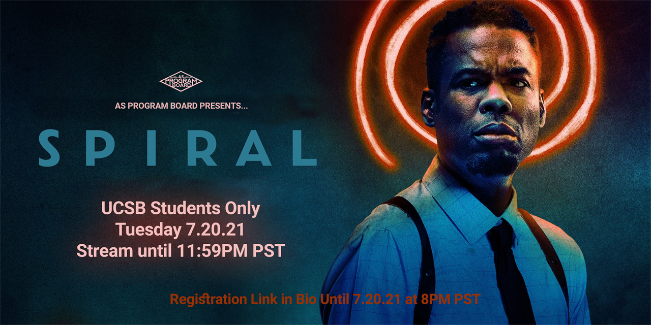 Free Tuesday Film: Spiral From The Book of Saw Event Logo