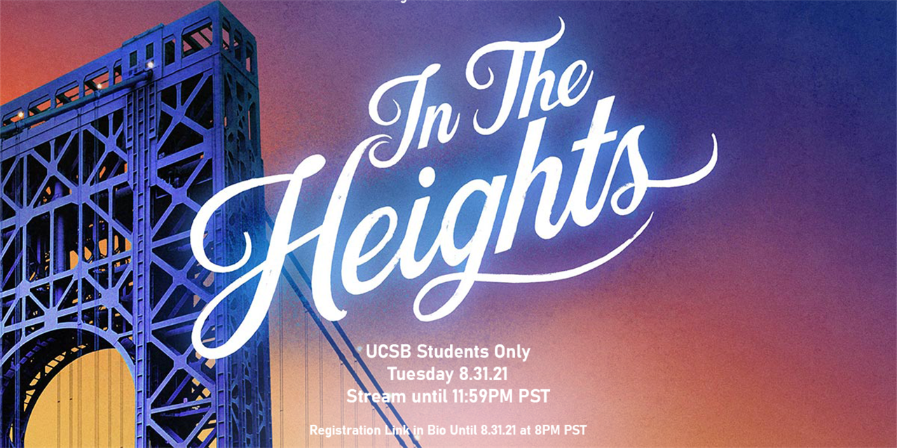 Free Tuesday Film: In the Heights Event Logo